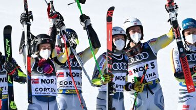 Złoci Norwegowie. Wygrali zawody drużynowe alpejskich mistrzostw świata