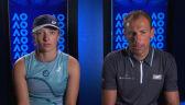 Świątek i Kubot o porażce w 2. rundzie gry mieszanej w Australian Open