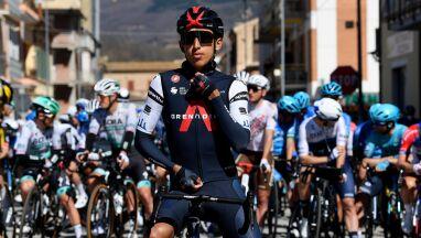 Bernal chce wygrać Giro w debiucie. To nie rywali obawia się najbardziej
