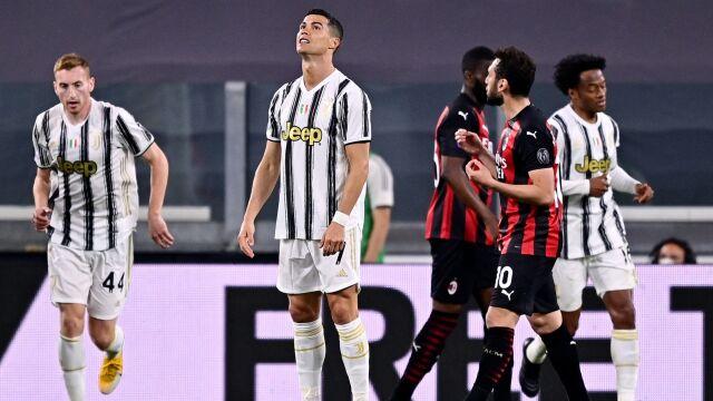 Obroniony karny Szczęsnego nic nie dał. Juventus skompromitował się z Milanem