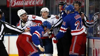 Najwyższa kara w historii NHL za krytykę władz.