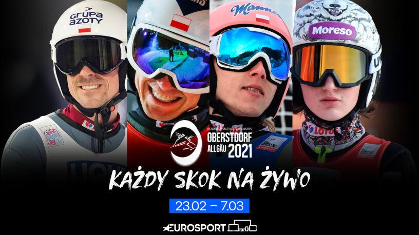 Każdy skok podczas MŚ w narciarstwie klasycznym na żywo tylko w Eurosporcie