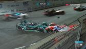 Wypadek Birda i Lynna w 1. wyścigu nowego sezonu Formuły E