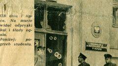 Fotografia z biuletynu informacyjnego nr 7 Wolna Europa wrzesień 1956 r.