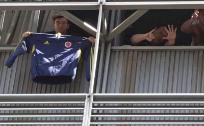 Kolumbijscy kibice utknęli w Argentynie