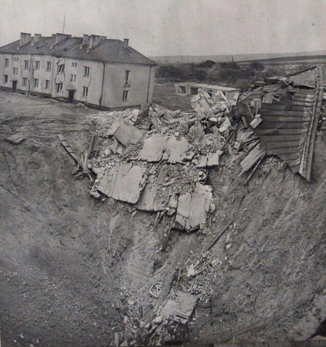 Osuwisko na ul. Obrońców Stalingradu