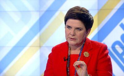Beata Szydło: Spotkam się z rezydentami kiedy skończy się protest