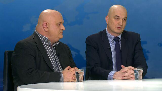 """Gośćmi programu """"Horyzont"""" byli Jerzy Haszczyński i dr Sławomir Dębski"""