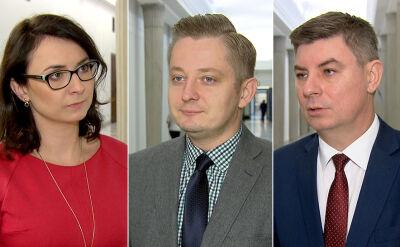 Opozycja o rekonstrukcji rządu