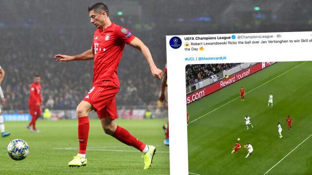 Nie mogło być inaczej. UEFA znowu wyróżniła Lewandowskiego