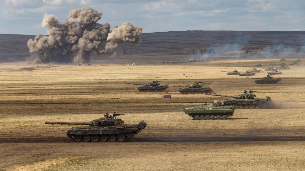 """Rosyjskie wojska ćwiczą na masową skalę. """"Nic dobrego z tego nie wyniknie"""""""