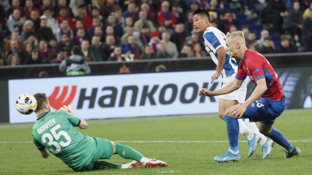 Pierwszy chiński gol w europejskich pucharach