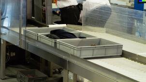 W czasie skanowania bagaży na granicy prześwietlono dziecko