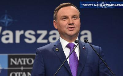 """""""NATO odniosło sukces i Polska odniosła sukces na tym szczycie"""""""