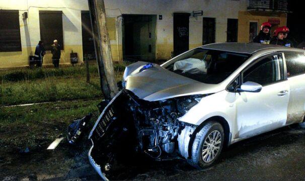 Funkcjonariusze trafili do szpitali w Zgierzu i Łodzi