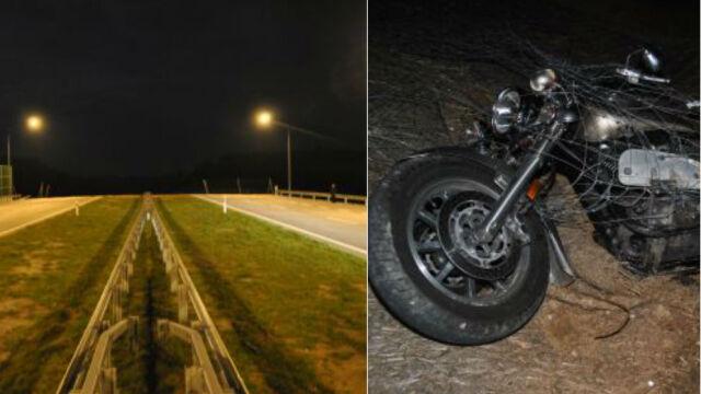 Obok barierek, przed siebie, po śmierć.  Motocykliści na zamkniętych drogach