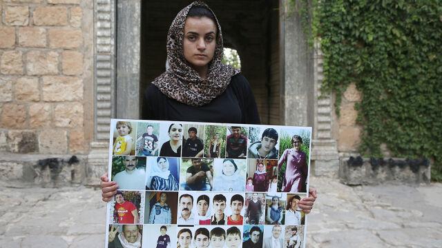Porwana przez dżihadystów, sprzedana za 100 dolarów. Mówi, że na ulicy w Niemczech spotkała swego oprawcę