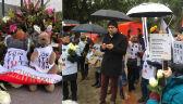 Protest Polonii w Australii