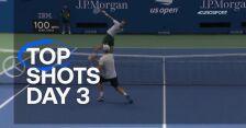 Najlepsze zagrania 3. dnia US Open