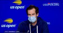 Murray po starciu z Tsitsipasem w 1. rundzie US Open
