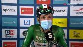 Colbrelli po wygraniu 6. etapu Benelux Tour