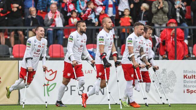 Polacy zagrają o medale mistrzostw Europy w amp futbolu. Francuzi bez szans
