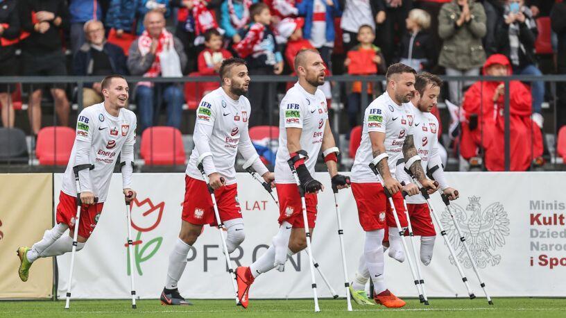 Polacy zagrają o medale mistrzostw Europy w amp futbolu