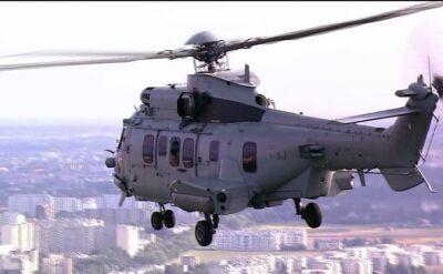 Eurocopter na polskim niebie. Zdjęcia z Błękitnego