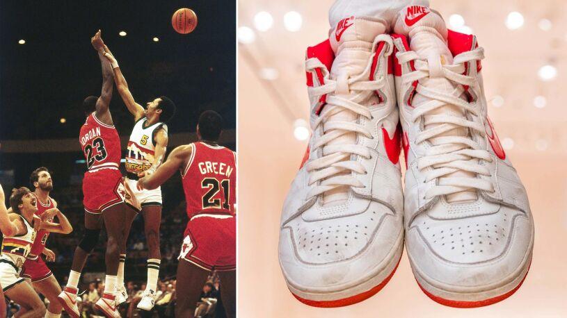 Buty Jordana sprzedane za rekordową kwotę