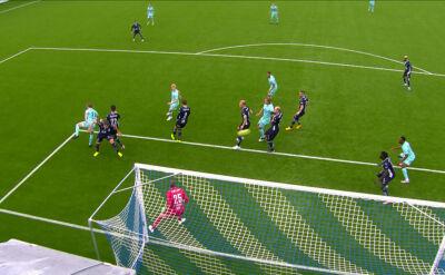 Liga norweska. Kristiansund - Molde 1:2 (gol samobójczy Pal Ulvestad)