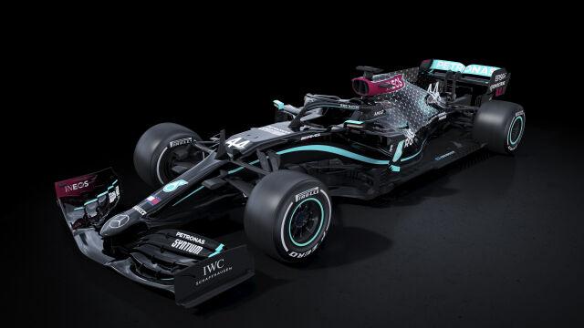 """Mercedes pojedzie czarnymi bolidami. """"Podstawa tego, w co wierzymy"""""""