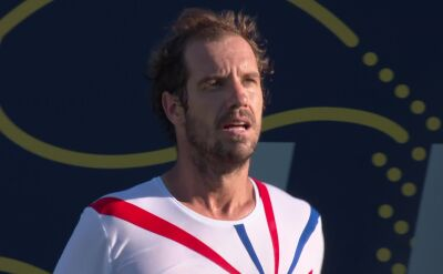 Gasquet pokonał Popyrina w Ultimate Tennis Showdown
