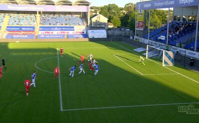 Liga norweska. Sarpsborg - Brann 0:1 (gol Gilbert Koomson)