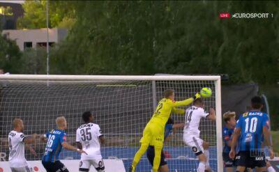 Liga norweska. Stabaek - Rosenborg 0:1 (gol Gustav Valsvik)