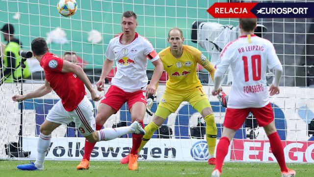 Dwa gole Lewandowskiego, Bayern z Pucharem Niemiec [RELACJA]