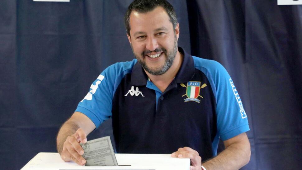 Liga Matteo Salviniego zwycięża eurowybory we Włoszech