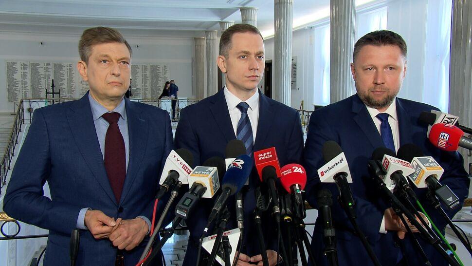 """Opozycja wzywa Morawieckiego  do złożenia """"publicznych wyjaśnień"""""""