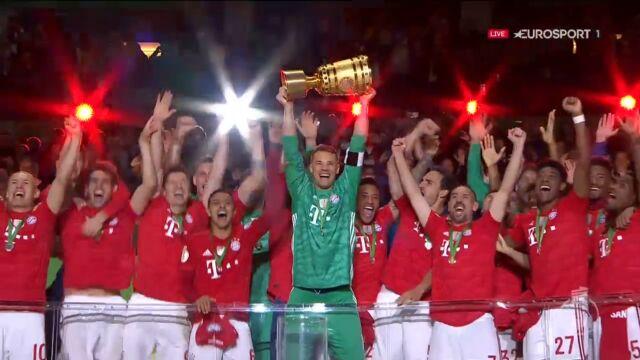 Bayern odebrał trofeum za wygranie Pucharu Niemiec