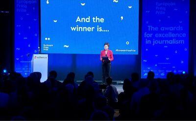 Nagrody European Press Prize wręczone. Gala odbyła się w Warszawie