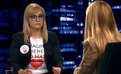 """Magdalena Adamowicz w """"Kropce nad i"""""""