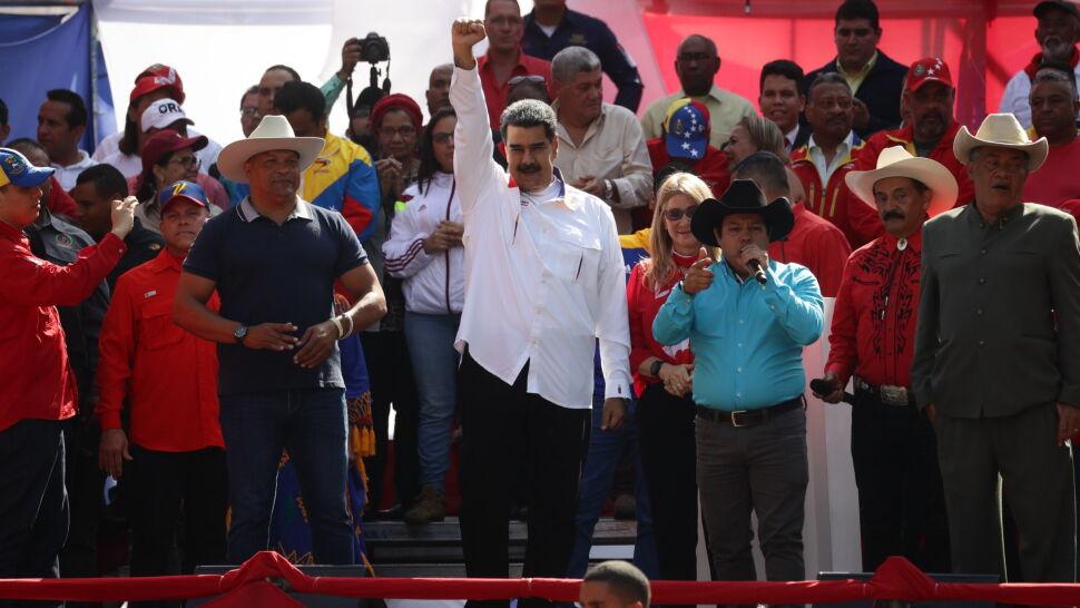 """Maduro chce przyspieszyć wybory w """"jedynej instytucji, która nie była prawomocna"""""""