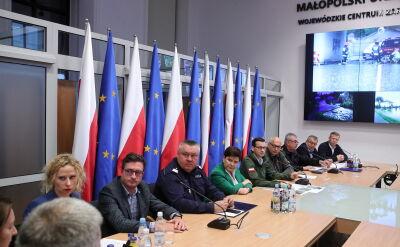 Wojewoda małopolski: jesteśmy gotowi do wsparcia lokalnych centrów zarządzania kryzysowego