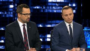 Krzysztof Brejza i Marcin Horała w