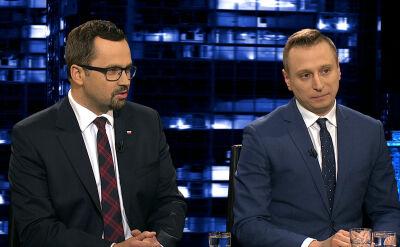 """Krzysztof Brejza i Marcin Horała w """"Kropce nad i"""""""