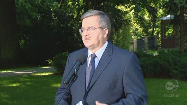 Prezydent o jednodniowych wyborach (TVN)