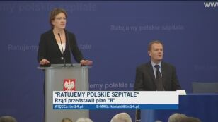 Ewa Kopacz o reformie szpitali TVN24