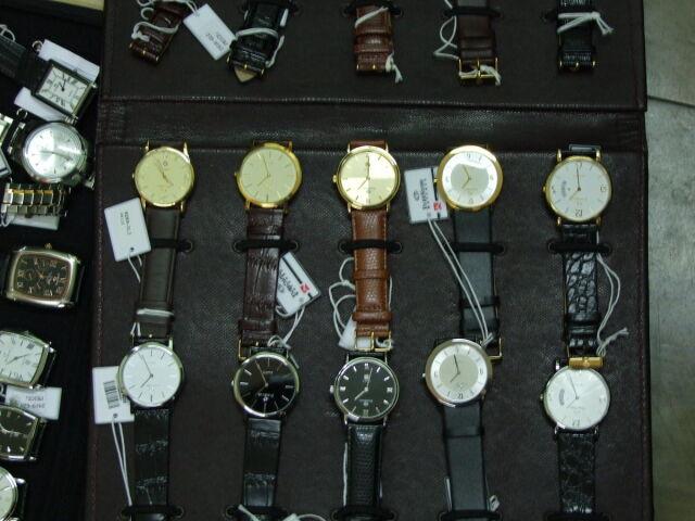 Woził zegarki za 60 tysięcy