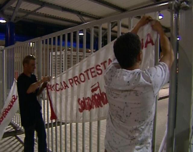 """Manifestacja w stolicy w rocznicę """"Solidarności"""""""