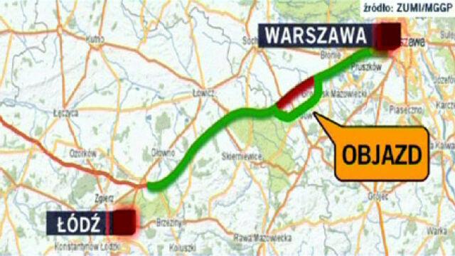 Andrzej Maciejewski z GDDKiA: A2 nie będzie w pełni przejezdna