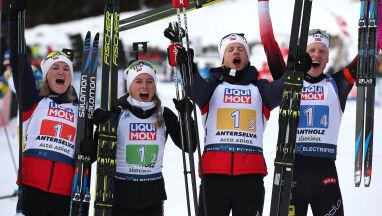 Norweski pokaz siły na otwarcie mistrzostw świata w biathlonie. Polska zdublowana
